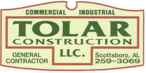Tolar Construction, LLC. Retina Logo